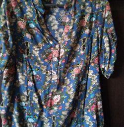 Bluză-cămașă de sex feminin dimensiune 48-50