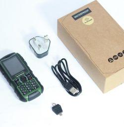 Teslimat IP68 2 Sim Güvenli Telefon