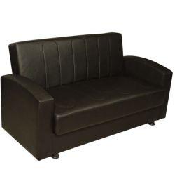 SOFA BED 2 DIMOS TRATAT CU NEGRU TEXTILE