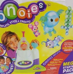 The designer from inflatable balls Onoies
