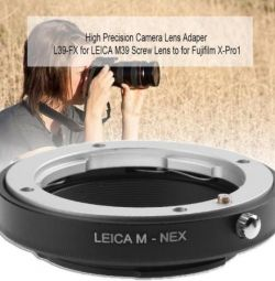 Adapter for Leica LM Mount Lens Sony A7 A7R NEX5N