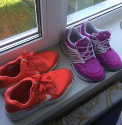 Ανδρικά πάνινα παπούτσια Nike ζουμ Adidas