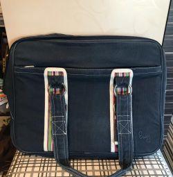 Χρησιμοποιημένη τσάντα lap-top