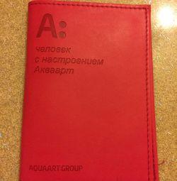 Pasaport kapağı