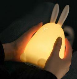Светильник-ночник USB Зайчик