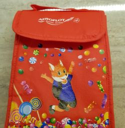 Aeroflot. Children's bag.