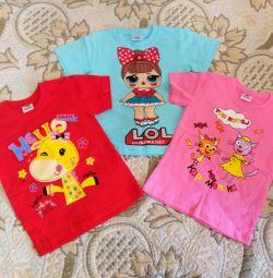 Tricouri pentru copii noi