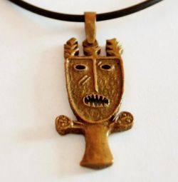 Bronze amulet, which protects from the evil eye