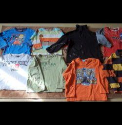 Tricouri pentru mâneci lungi și scurte