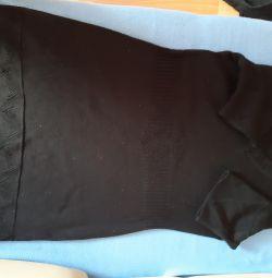 Тeплое платье
