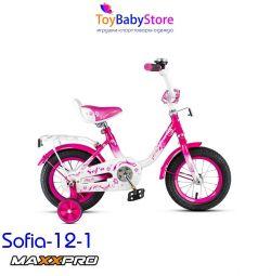 Велосипед детский новый Maxxpro Sofia 12