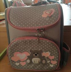 Backpack for girls. School.