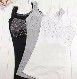 Τρία χρώματα μπλουζάκια