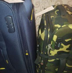 New cool suitcases, M, L