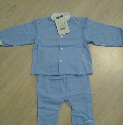 Κοστούμια μεγέθους παιδιού 56, 68