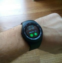 Waterproof smart watch with sim card
