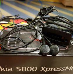 Ακουστικά + φορτιστής + προσαρμογέας από τη Nokia