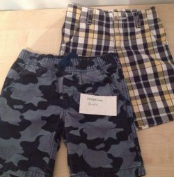 Shorts and a suit (р104-110 / 110-116)