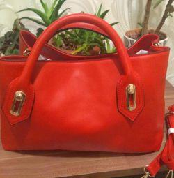 Τσάντα νέο οικολογικό δέρμα