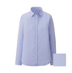 Uniqlo Xs / S yeni pamuklu gömlek