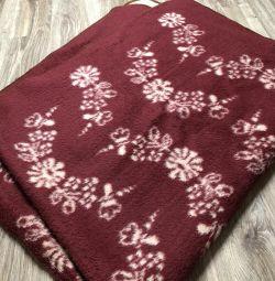 Blanket, plaid wool