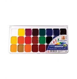 New 24pcs watercolor paints in a pack