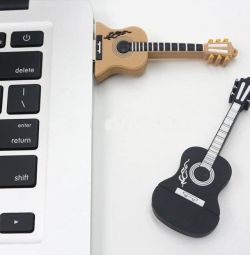 USB Flash Drive Guitar Black