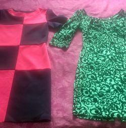 Beautiful dresses, size 42-44