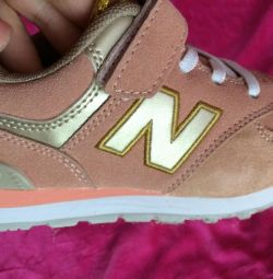 Sneakers NB Suede for girls new