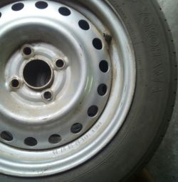 Tires with wheels