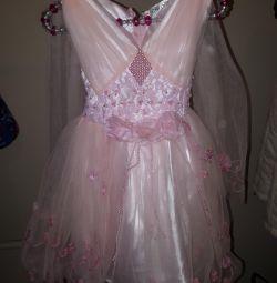Φόρεμα το πριγκίπισσα ύψος 92-98