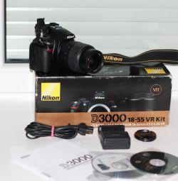 Φακός Nikkor D3000 + Nikkor 18-55mm