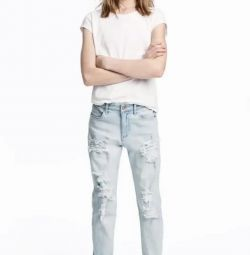 H&M'den yeni yırtık kot pantolon