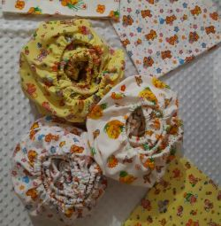 In stock Sheet with elastic from flannel