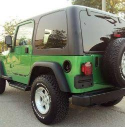 Jeep Wrangler Green 2OO4