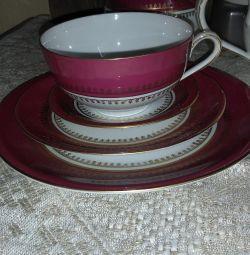 12 kişilik çay seti