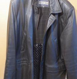 Jacheta din piele de calitate superioară din SUA