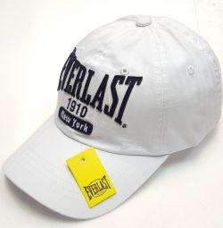 Καπέλο μπέιζμπολ καπέλο για άνδρες EVERLAST (λευκό)