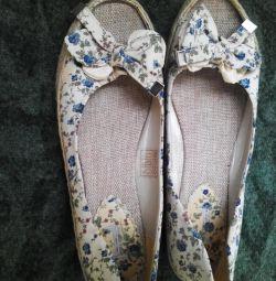 Туфли летние размер 40