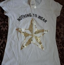 T-shirt for women 44 size.