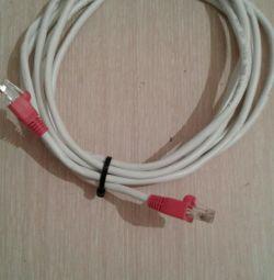 Кабель інтернет 4метра