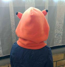 Детская шапка капюшон