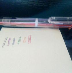 Ручка багатобарвна 6 кольорів, нова
