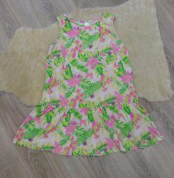 Summer cotton sundress