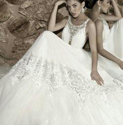 Свадебное платье бохо, рустик Elihav Sasson Kelli