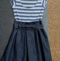 Φόρεμα (φούστα denim)
