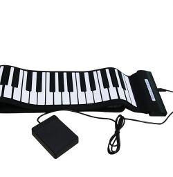 88 de taste pian flexibil (rare)