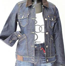 Джинсовая куртка подростку, новая