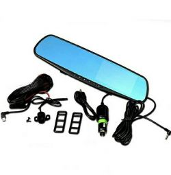Dvr mirror XPX ZX804 with rear parks