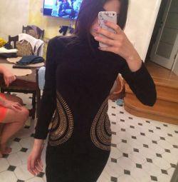 Φόρεμα r. 44 πλεκτά